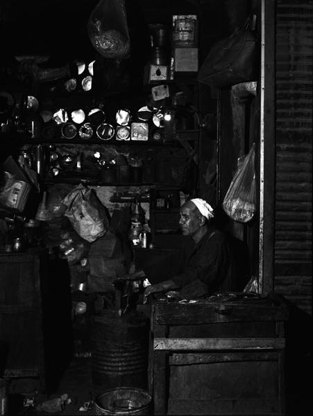 Rue el-Moez Ledin Ellah, Le Caire-1990