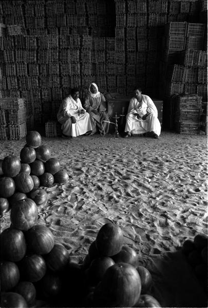 anciennes halles aux légumes, Le Caire-1990