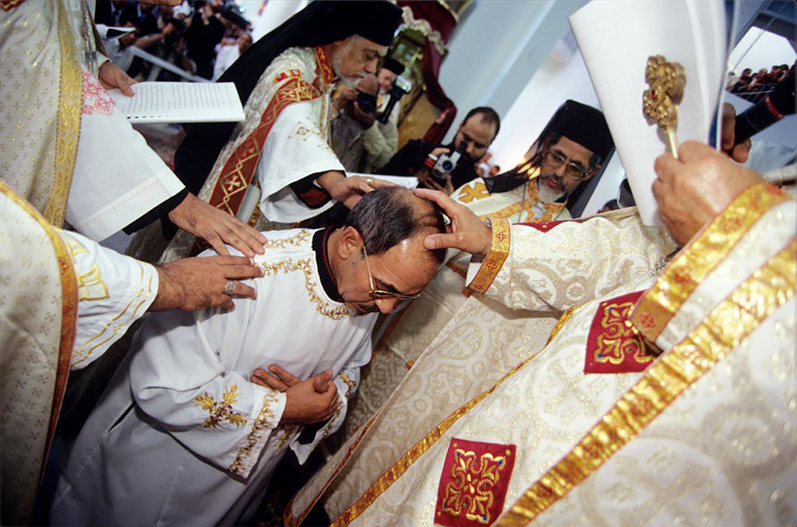 Consecration of Assiut Bishop. Abou Tig, near Assiut - Nov 2003
