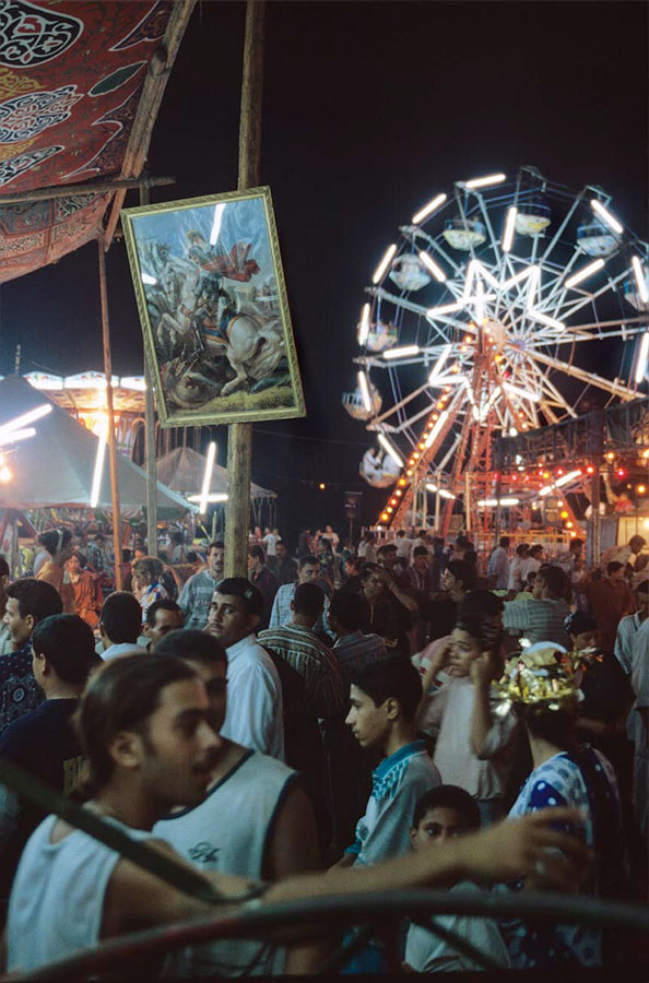 Amusements, Holy Virgin's pilgrimage fair. Deir Dronka, near Assiut - Aug 1998