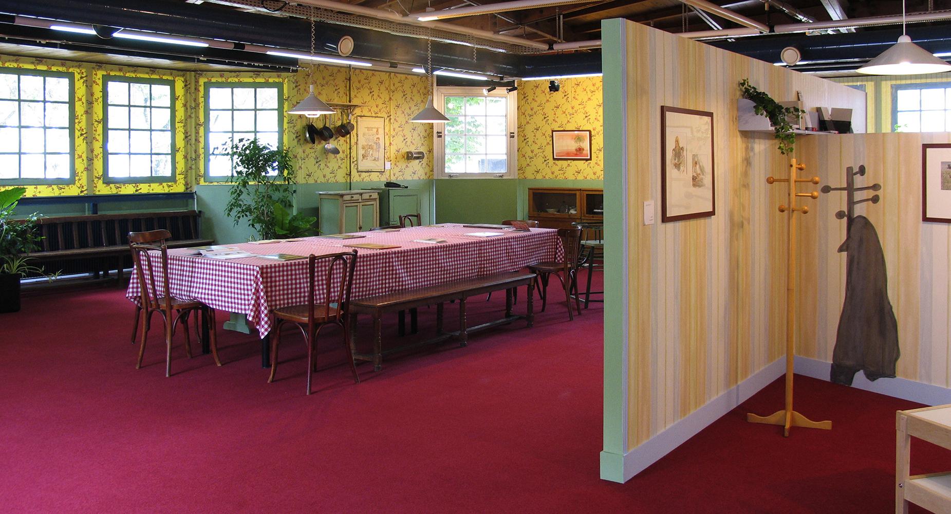 """13 mai 2006 - Inauguration de l'exposition rétrospective Philippe DUMAS """"Coquins comme il faut"""" à la Bibliothèque de Pantin"""