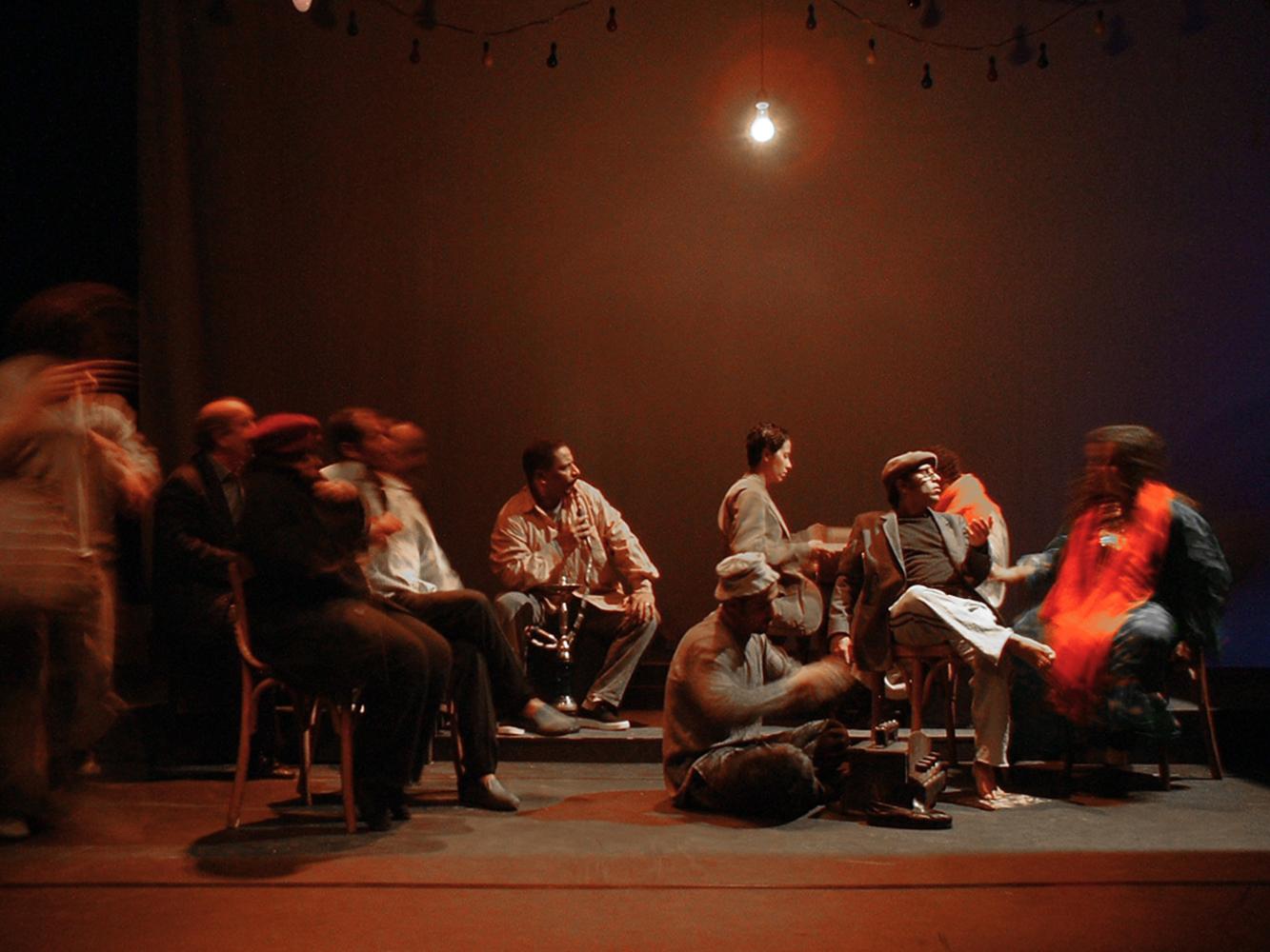 mars 2004 Le Caire sur la main - Mantes-la-Jolie - Collectif 12 /  Lille - Le Grand Bleu