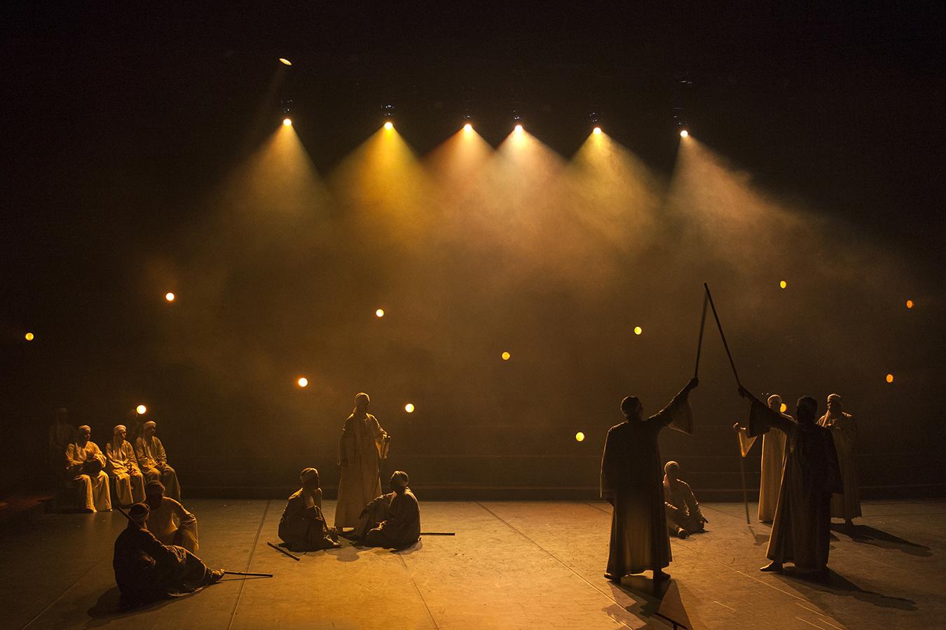 11 mars 2018 - Spectacle de Tahtib par l'école de Mallawy (Egypte) à l'auditorium du Musée Quai Branly - Jacques Chirac - Paris