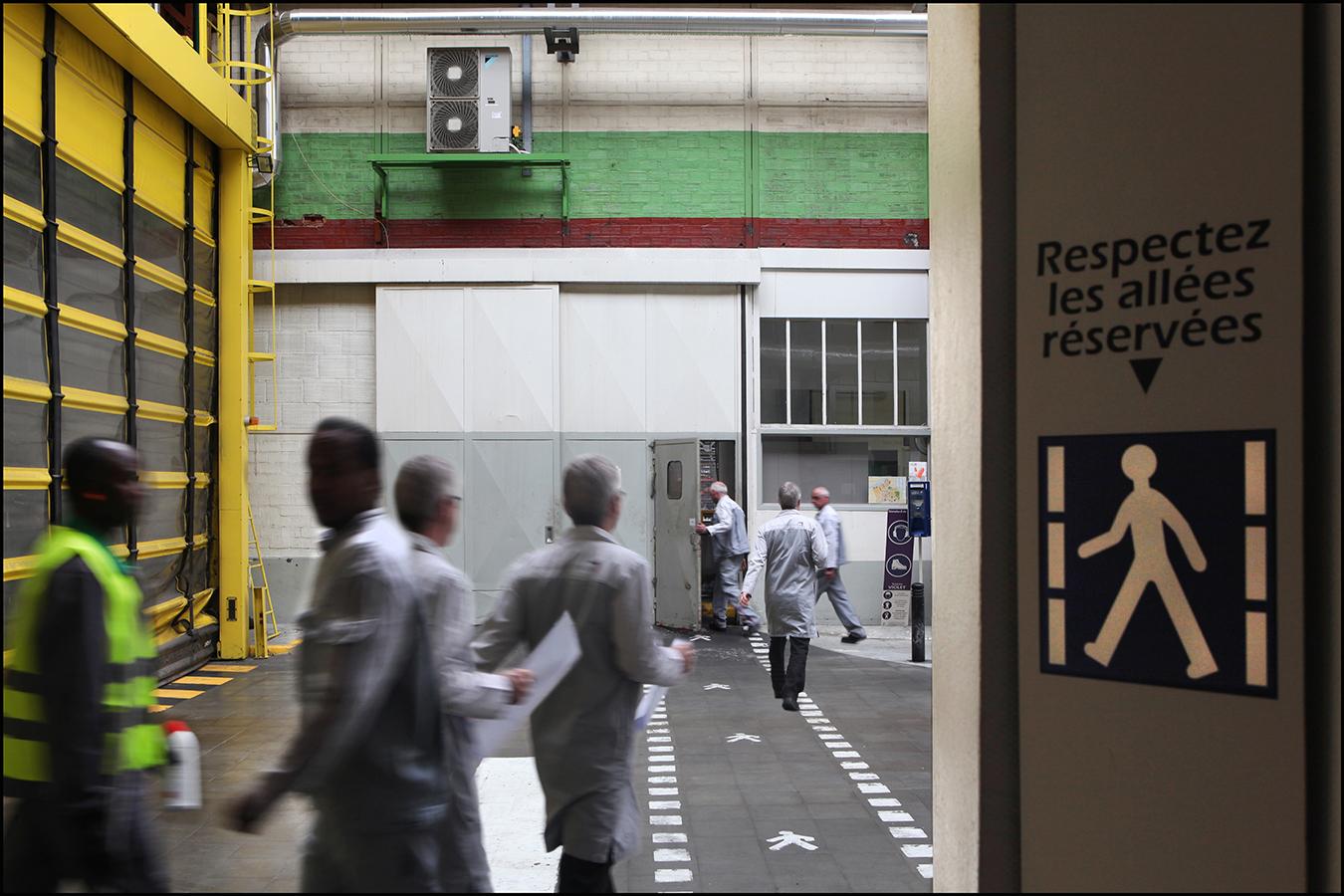 22 avril 2013 - Lieux. Usine PSA 93400 St Ouen.